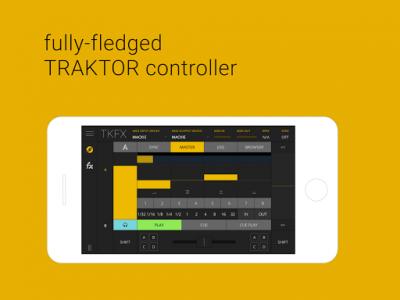 اسکرین شات برنامه TKFX - Traktor Dj Controller 1