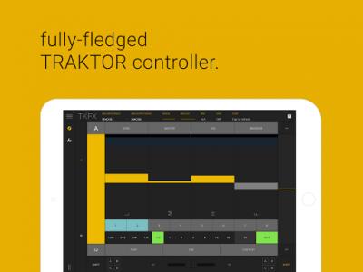 اسکرین شات برنامه TKFX - Traktor Dj Controller 4