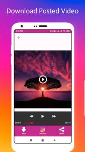 اسکرین شات برنامه دانلود عکس پروفایل اینستا+پست 7