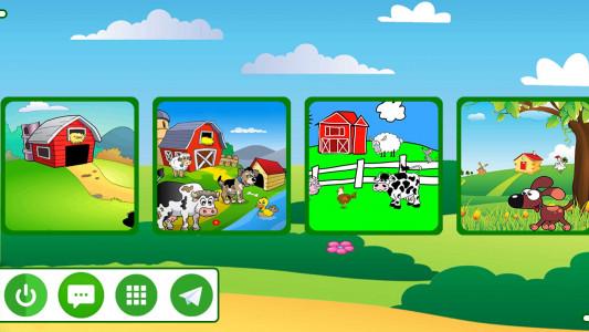 اسکرین شات برنامه مزرعه حیوانات 2