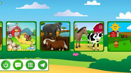 اسکرین شات برنامه مزرعه حیوانات 1
