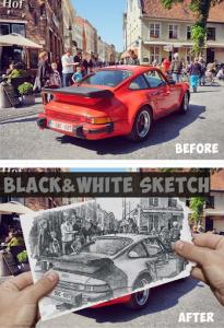 اسکرین شات برنامه Photo Lab - Photo Masking & Sketch Effect 3