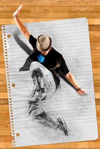 اسکرین شات برنامه Photo Lab - Photo Masking & Sketch Effect 1