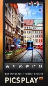 اسکرین شات برنامه PicsPlay - Photo Editor 1