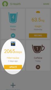اسکرین شات برنامه Fit and Healthy 1