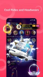 اسکرین شات برنامه VoChat - Group Voice Chat Rooms 4