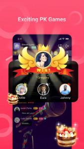 اسکرین شات برنامه VoChat - Group Voice Chat Rooms 5