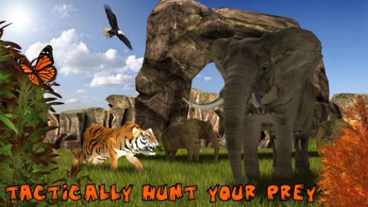 اسکرین شات برنامه Ultimate Lion Vs Tiger: Wild Jungle Adventure 2