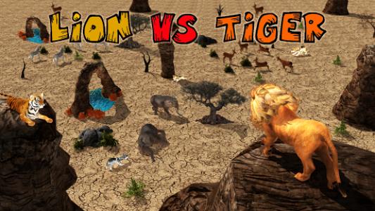 اسکرین شات برنامه Ultimate Lion Vs Tiger: Wild Jungle Adventure 6