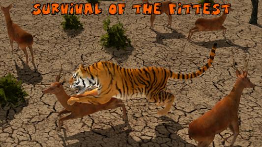 اسکرین شات برنامه Ultimate Lion Vs Tiger: Wild Jungle Adventure 4