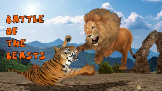 اسکرین شات برنامه Ultimate Lion Vs Tiger: Wild Jungle Adventure 5