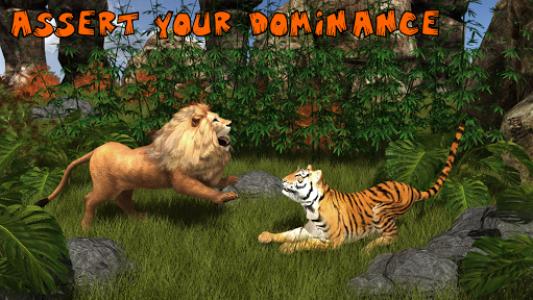 اسکرین شات برنامه Ultimate Lion Vs Tiger: Wild Jungle Adventure 1