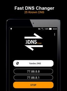 اسکرین شات برنامه Fast DNS Changer (No Root) 6