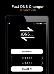 اسکرین شات برنامه Fast DNS Changer (No Root) 5