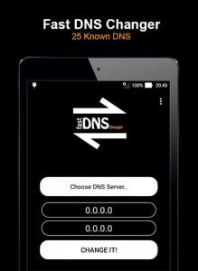 اسکرین شات برنامه Fast DNS Changer (No Root) 7