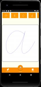 اسکرین شات برنامه تمرین دست خط پیوسته 1