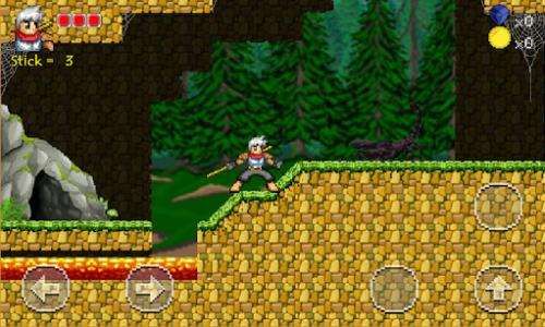 اسکرین شات بازی Golden Warrior : Stick of Legend 3