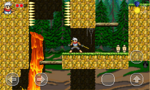 اسکرین شات بازی Golden Warrior : Stick of Legend 7