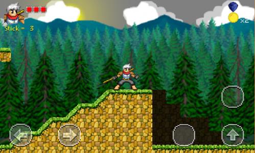 اسکرین شات بازی Golden Warrior : Stick of Legend 2