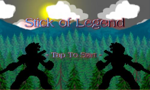 اسکرین شات بازی Golden Warrior : Stick of Legend 1
