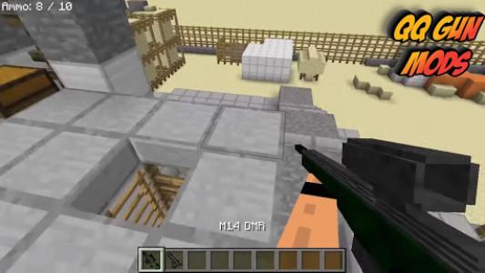 اسکرین شات برنامه QQ - Guns mod for minecraft pe 4