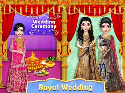 اسکرین شات برنامه Stylist Fashion Indian Wedding Games for Girls 4