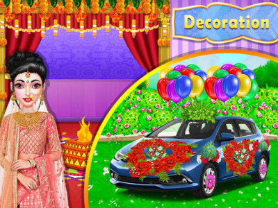 اسکرین شات برنامه Stylist Fashion Indian Wedding Games for Girls 1