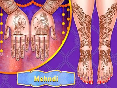 اسکرین شات برنامه Stylist Fashion Indian Wedding Games for Girls 7