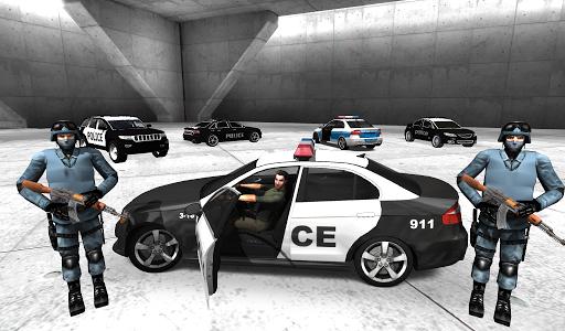 اسکرین شات بازی Police Car Racer 3D 2