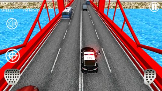 اسکرین شات بازی Police Car Racer 3D 4