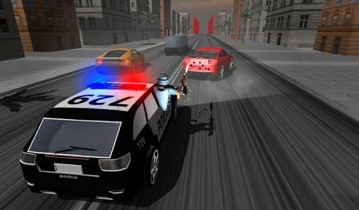 اسکرین شات بازی Police Car Racer 3D 3