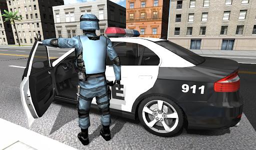 اسکرین شات بازی Police Car Racer 3D 1