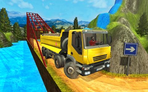 اسکرین شات بازی Truck Driver Transporter 1
