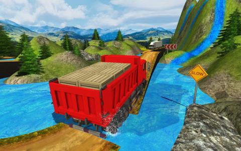 اسکرین شات بازی Truck Driver Transporter 4