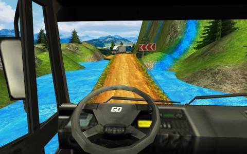 اسکرین شات بازی Truck Driver Transporter 3