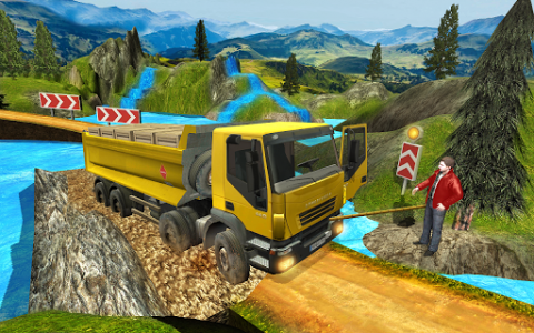 اسکرین شات بازی Truck Driver Transporter 2