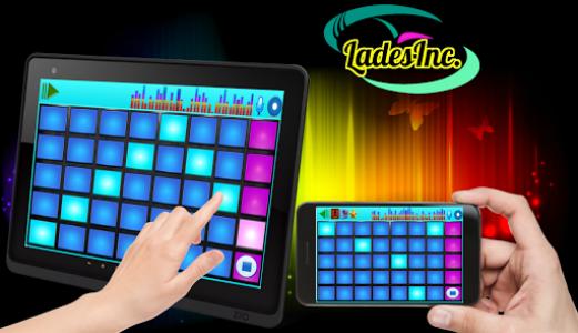اسکرین شات برنامه DJ Mix Pad 7