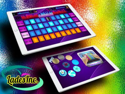 اسکرین شات برنامه DJ Mix Pad 2