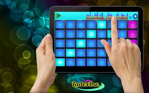 اسکرین شات برنامه DJ Mix Pad 8