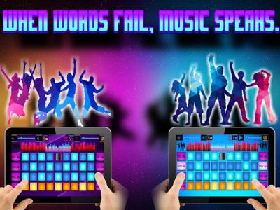 اسکرین شات برنامه DJ Mix Pad 5