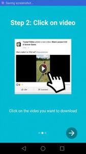اسکرین شات برنامه Video Downloader for Facebook 3