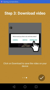 اسکرین شات برنامه Video Downloader for Facebook 4