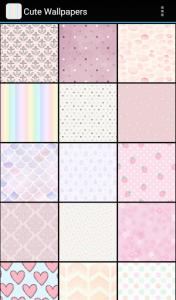 اسکرین شات برنامه Cute Wallpapers 2