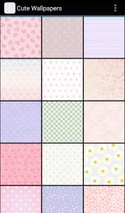 اسکرین شات برنامه Cute Wallpapers 1