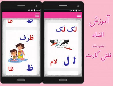 اسکرین شات برنامه آموزش کودک (الفبا،اعداد و...) 2