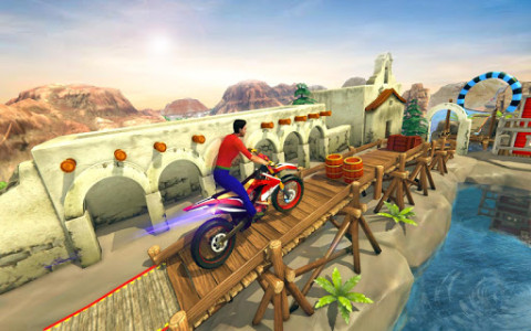 اسکرین شات بازی Impossible Bike Track Stunt Games 2021: Free Games 7