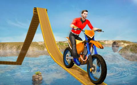 اسکرین شات بازی Impossible Bike Track Stunt Games 2021: Free Games 1