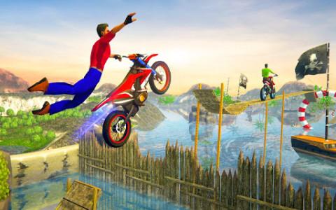 اسکرین شات بازی Impossible Bike Track Stunt Games 2021: Free Games 3