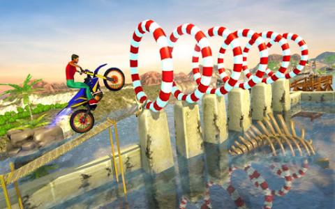 اسکرین شات بازی Impossible Bike Track Stunt Games 2021: Free Games 5