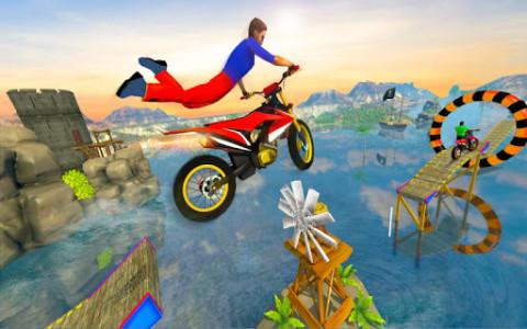 اسکرین شات بازی Impossible Bike Track Stunt Games 2021: Free Games 6